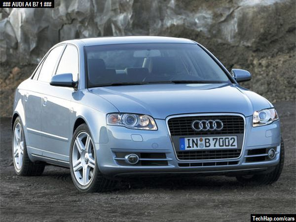 Audi A4 B7 Photo Car Specifications Automobile Modifications