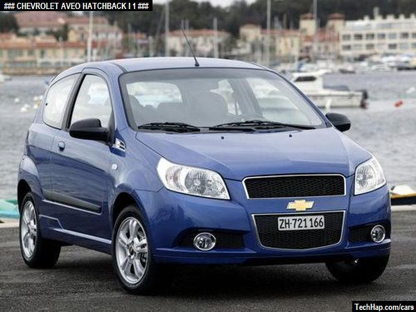 Chevrolet Aveo Hatchback I Photo Car Specifications Automobile Modifications