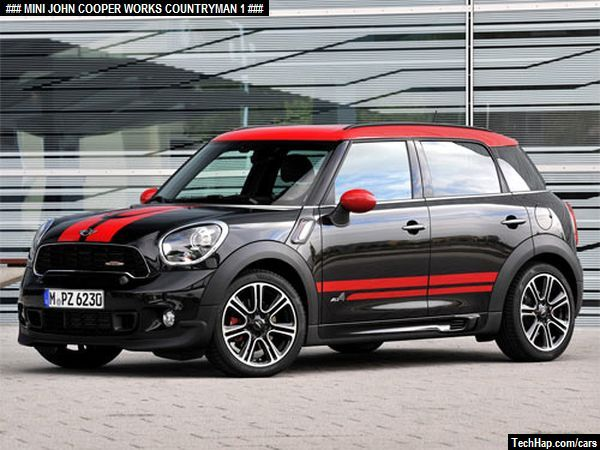 66af86e865f02 MINI John Cooper Works Countryman. Photo. Car Specifications ...