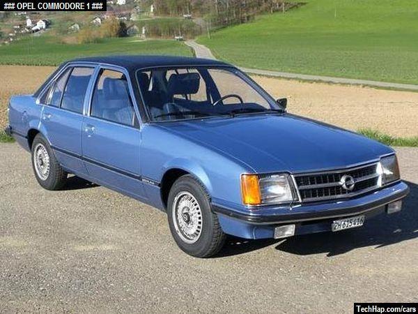 Opel Commodore  Photo  Car Specifications  Automobile modifications