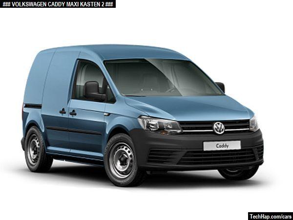 Volkswagen Caddy Maxi Kasten Photo Car Specifications