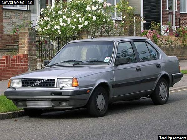 Volvo 360  Photo  Car Specifications  Automobile modifications